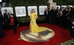 Jennifer Lopez Red Carpet Hair At The Golden Globe Awards.